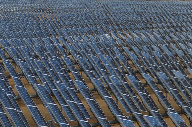 Parc solaire photovoltaïque au sol