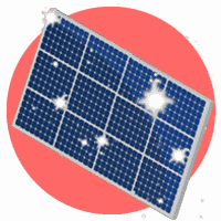 icône entretien nettoyage kit panneau solaire