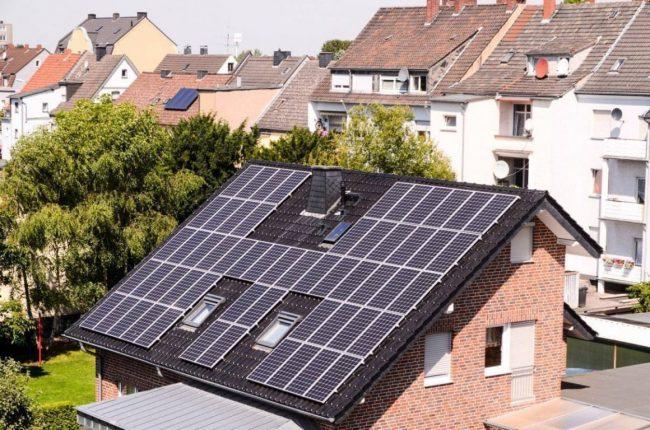 maison panneau solaire photovoltaïque vente totale