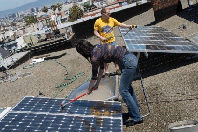 Les installations photovoltaïques en zone agricole sont cela dit  susceptibles de se salir plus rapidement du fait des particules provenant  des multiples ... 9e7b698e6d1a