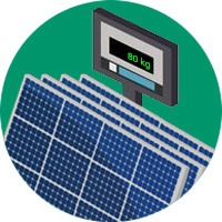 poids panneau solaire toiture