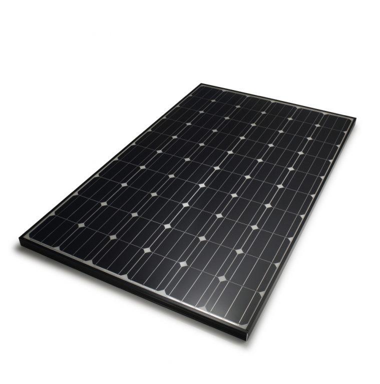 Panneaux solaires monocristalltins full black
