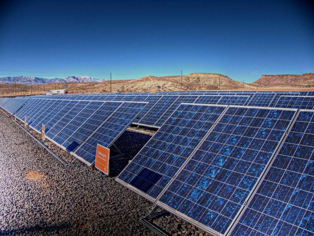 Panneau solaire photovoltaïque polycristallin
