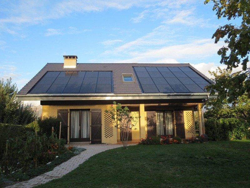 Panneau solaire photovoltaique vente totale intégration au bâti