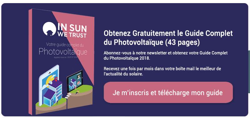 CTA Obtenir guide panneau photovoltaïque 2019