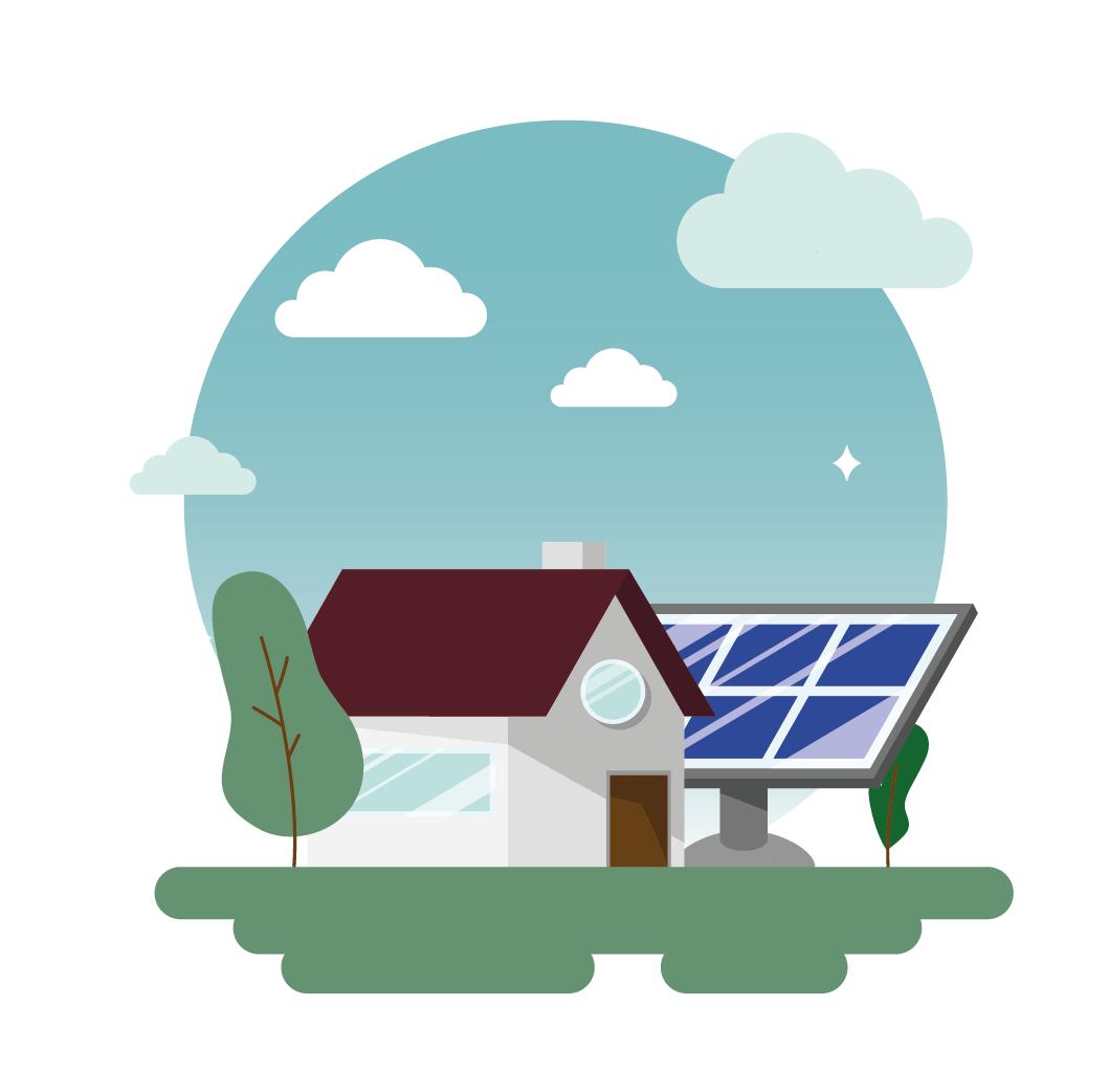 installation panneaux solaires au sol