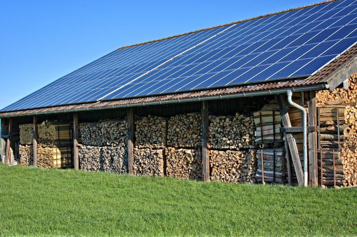 hangar agricole photovoltaïque panneau solaire