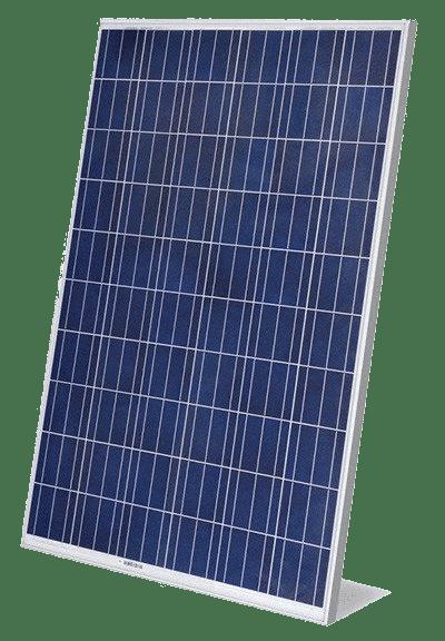 panneau solaire photovoltaïque polycristallin bleu