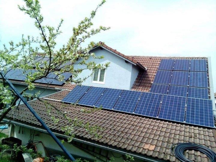 installation autoconsommation avec vente du surplus de 6 kWc