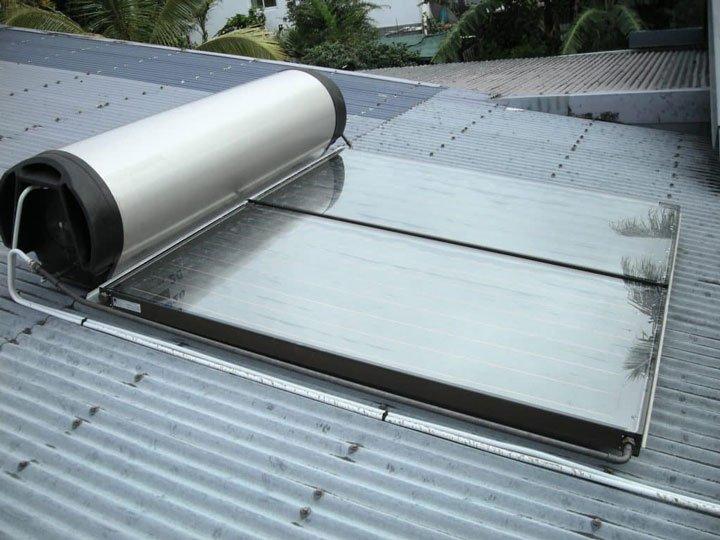 chauffe eau solaire système monobloc surimposé