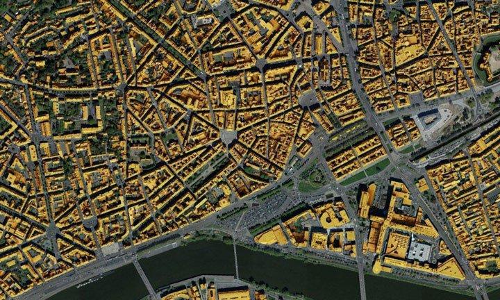 cadastre solaire Nantes simulation potentiel solaire toitures