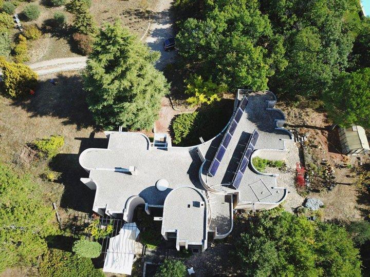 panneaux photovoltaiques et thermiques pour négocier la vente de sa maison