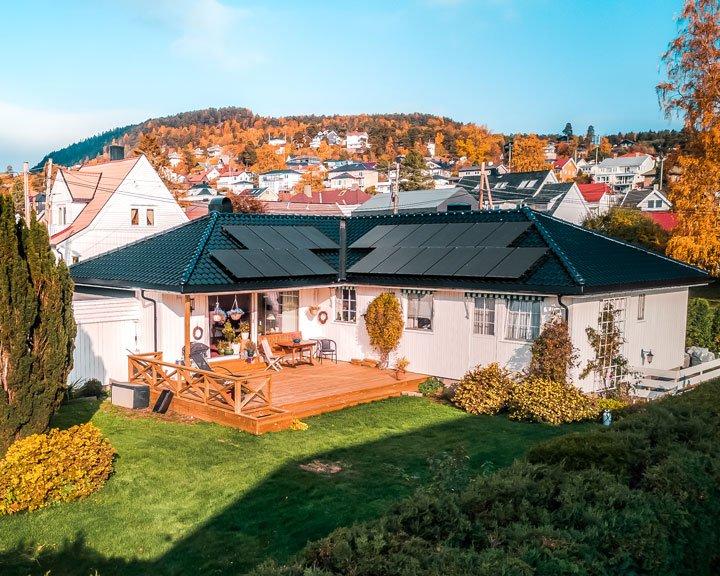 panneau solaire Norvège autoconsommation ou vente totale