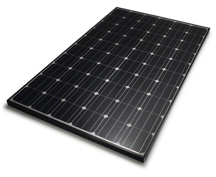 panneau solaire monocristallin full black