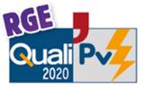 logo qualipv pour certification RGE