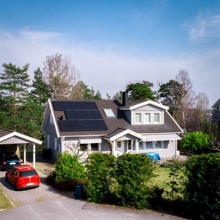 Nouvelle installation photovoltaïque ne bénéficiant pas du crédit d'impôt