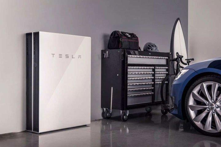 Batterie de stockage Tesla installation photovoltaïque en autoconsommation