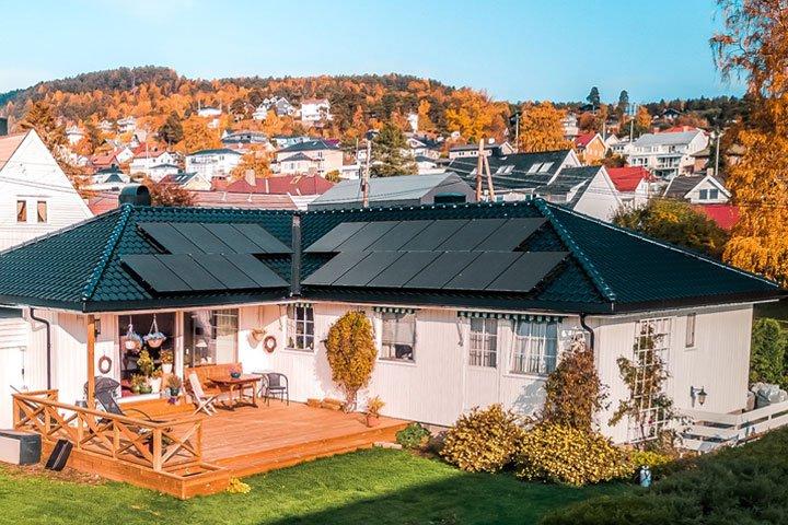 installation panneau solaire photovoltaique en autoconsommation avec vente de surplus sur maison