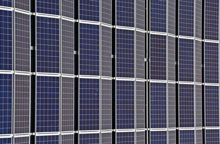 centrale solaire photovoltaïque au sol