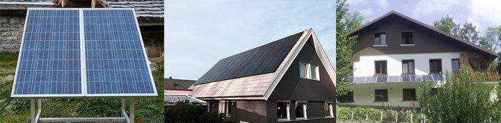 les différents types de fixations possibles pour un kit solaire