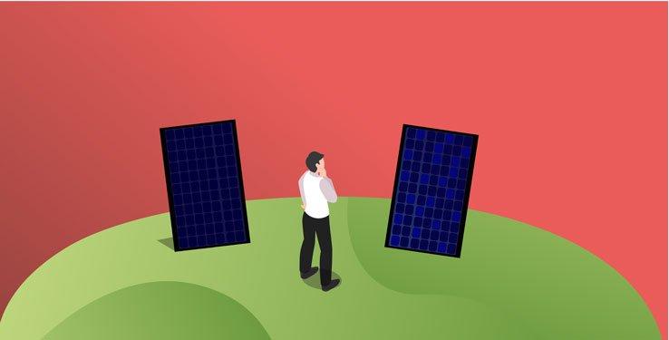 Guide panneau solaire monocristallin ou polycristallin