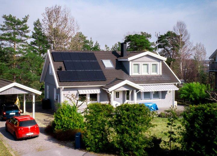 Puissance panneaux solaires