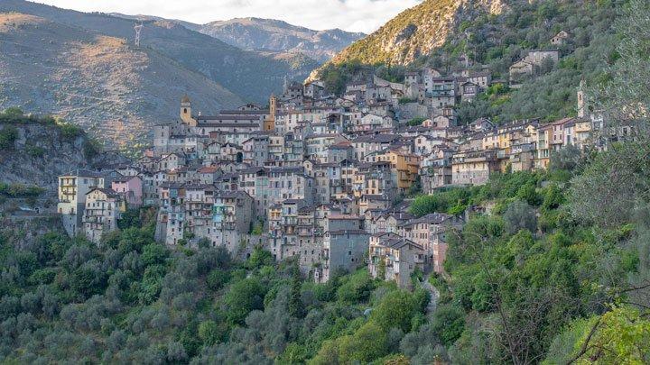 village en France dans une zone protégée