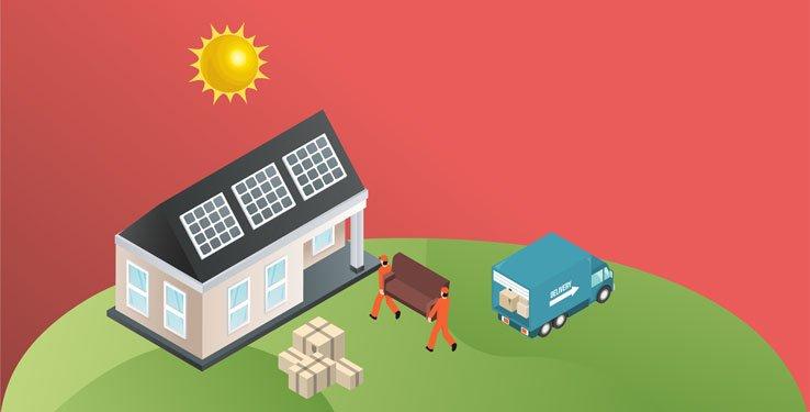 Guide déménagement panneau solaire
