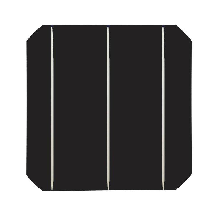 cellule de panneaux solaires avec des barres