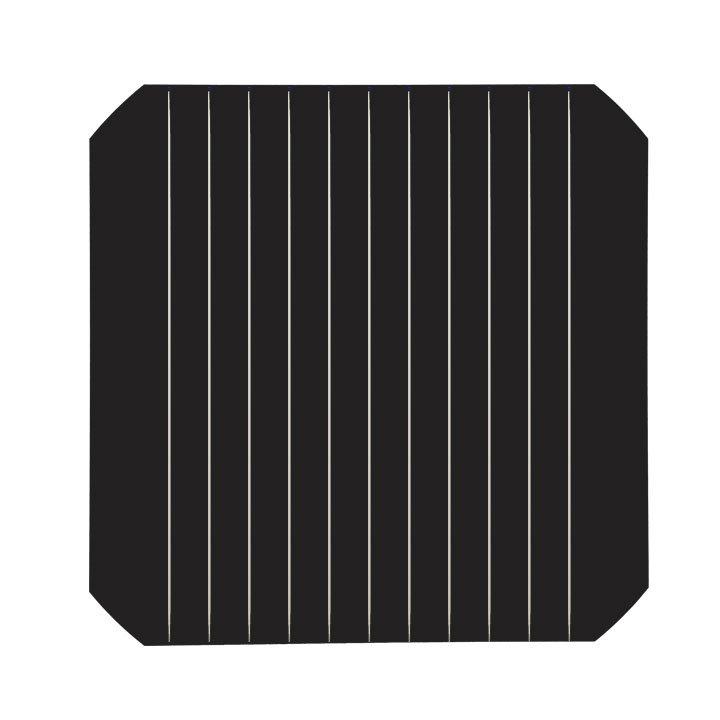 cellule panneau solaire avec des fils minces