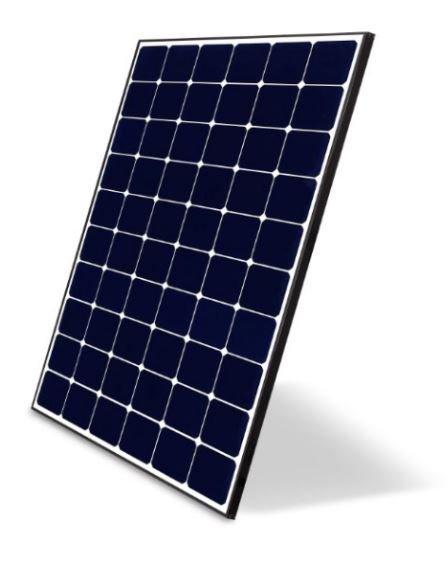 panneau solaire LG neon R