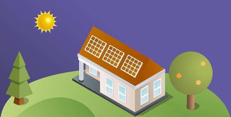 Guide panneau solaire photovoltaique couleur