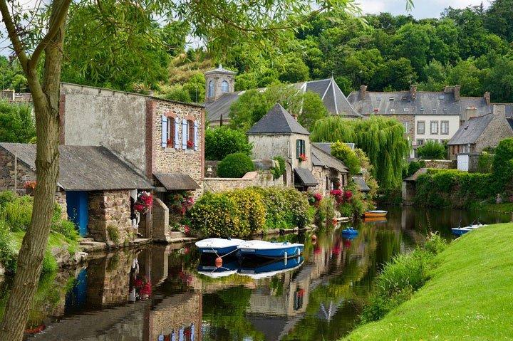 village en France dans une zone protégée ABF