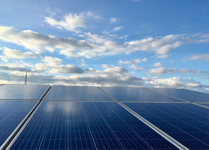 impact des climat et microclimat sur la production d'un panneau solaire