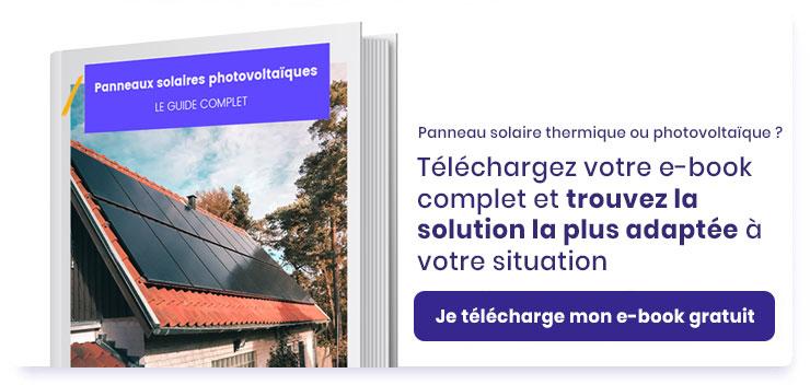 Bouton télécharger guide panneau solaire photovoltaique ou thermique