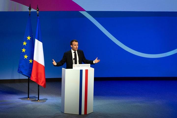 Illustration président Macron